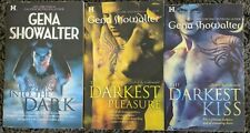 GENA SHOWALTER LORD OF THE UNDERWORLD SERIES PARANORMAL ROMANCE 3 BOOK LOT