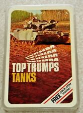 Dubreq Top Trumps. Tanks c.1970s. Mint condition