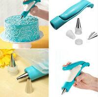 746| pistolet à pâtisserie-décoration gâteau-douille-pistolet pour crème a decor
