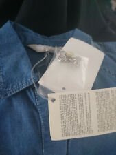 NEU Marina Rinaldi Max Mara Jeans Bluse blouse shirt Hemd NP 199€  40/42 21 M L