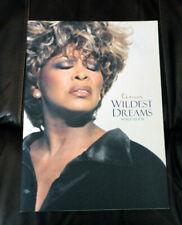 Tina Turner 1996 Wildest Dreams World Tour Programme Program FREE UK POST!