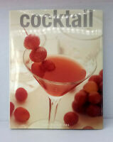 Cocktail by Oona van den Berg illustrated used hardcover dust jacket alcohol