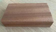 🌳Solid Mahogany Hardwood Planed Offcut 21.5 x 12 x 4.5cm Wood Crafts 741h