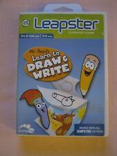 Leapfrog Leapster Señor Lápiz Aprender A Dibujar & Escribir Juego De Aprendizaje 4-8YRS