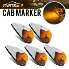 5x Universal VS-L157Y-9 LED bright Clearance Roof Running Cab Marker Amber Light