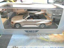 MERCEDES BENZ 500 SEC Cabrio Koenig Special Tuning 1985 W126 NEO Resin SP 1:43