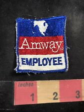 Vintage AMWAY EMPLOYEE Patch 91MB