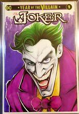 DC THE JOKER -YEAR OF THE VILLAIN # 1  ORIGINAL SKETCH ART One of a kind Batman