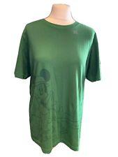uniqlo Green Disney Mickey Mouse Tshirt Size M