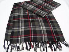negro / Gris Cuadros - talla única Bufanda
