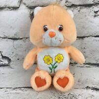 Care Bear Friend Bear Plush Soft Orange Stuffed Animal Teddy Toy