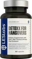 LES Labs DeToxx for Hangovers, Natural Supplement Liver Support &...