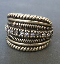 SSU14 Premier Designs Jewelry NOBLE Ring Size 8