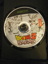 Dragon Ball Z: Sagas (Microsoft Xbox, 2005) - Disc Only!!!