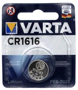 VARTA CR1616 Bouton Lithium 3V Piles - Blister - Date 2030