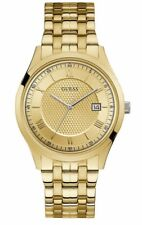 Guess Watch men New Quartz 41.9mm Gold Water Resistant Quartz U1218G4