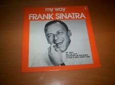 "FRANK SINATRA   ""MY WAY""  PICTURE SLEEVE    EP   7 INCH 45   1971"