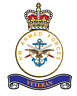 """2 X  HM ARMED FORCES  STICKERS  5"""" BRITISH ARMY USA  BADGES MILITARY INSIGNIA"""