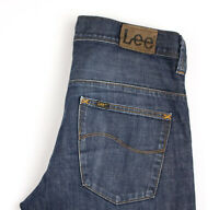 Lee Hommes Parker Slim Jeans Jambe Droite Taille W34 L30 APZ831