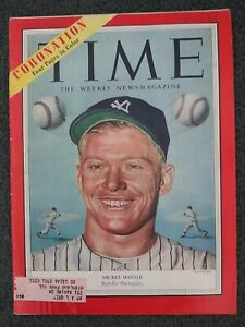 Mickey Mantle - 1953 TIME Magazine - New York Yankees - Baseball - Complete