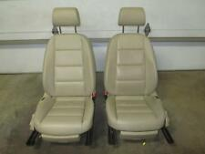 05-08 AUDI AUDI A6 Electric Tan Leather Front Seats Left Right Driver Passenger