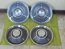 "1964 Pontiac 14"" HUB CAPS Set of 4 Wheel Covers 64 Hubcaps"