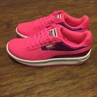 Puma GV Special Mirror Metal (Big Kid) Sneakers Casual Pink/Purple Girls 6.5C