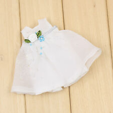 "Takara 8"" Middle Blythe Doll Outfits-White Princess Dress"