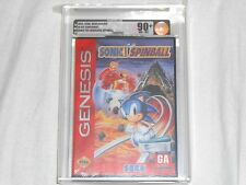 NEW Sonic Spinball Sega Genesis VGA 90+ NM+/MT GOLD Sealed The Hedgehog Pinball
