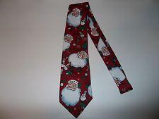 Hallmark Specialties Christmas Santa Claus Men's Neck Tie