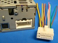 CLARION 16-PIN STEREO / RADIO WIRE HARNESS POWER PLUG BACK CLIP CD MP3 US SELLER