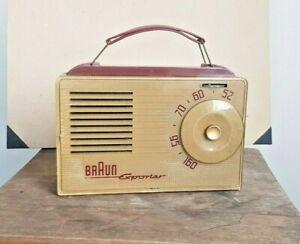 Röhrenkofferradio Braun Exporter | 50er Jahre