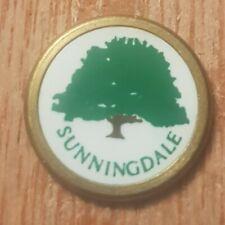 Sunningdale Golf Ball Marker (D10)