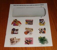 Original 1976 VW Volkswagen Station Wagon & Campmobile Van Bus Sales Brochure