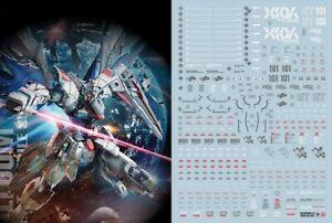 Gundam Seed water slide decal SIMP sticker F14 MG Freedom 2.0