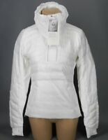 NEW LULULEMON Down For A Run Pullover II Jacket 2 10 White Goose FREE SHIP