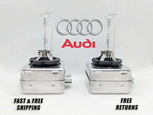 Stock Fit HID Headlight Bulbs for Audi A5 2010-2014 High & Low Beam Set of 2