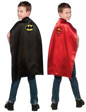 Child's Batman/Superman Reversible Cape DC Comics Costume Accessory