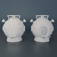 VOYAGE TO THE BOTTOM OF THE SEA - DIVING BELL - MINI SUB - MISSILE - 3D PRINTED