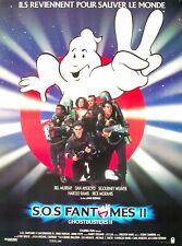 S.O.S FANTÔMES 2 (GHOSTBUSTERS 2) - Bill Murray - SYNOPSIS D'ÉPOQUE (1988)