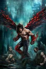 "Tekken #1 Virgin ""Devil Jin"" Bulletproof store exclusive  RARE!NM *Pre-Sell*"