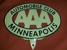 057 AAA Automobile Association of America UNUSED Minneapolis Badge Nascar HotRod