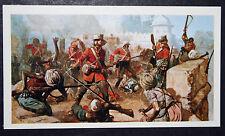 61st Foot  Gloucestershire Regiment   Indian Mutiny     Card # VGC