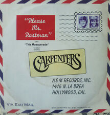 "7"" 1974 CV BEATLES VG+++"" CARPENTERS Please Mr. Postman"
