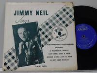 "Jimmy Neil 10"" Lp Jimmy Neil Sings on Thistle VG"