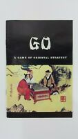 GO Game Of Oriental Strategy Replacement Instructions Manual 1982