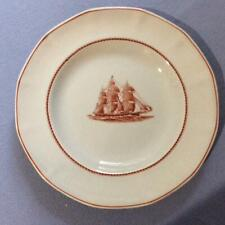 "Wedgwood Flying Cloud Red Jacket Georgetown Collection rust 8"" salad plate"