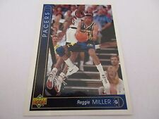 Carte NBA UPPER DECK 1993-94 FR #21 Reggie Miller Indiana Pacers