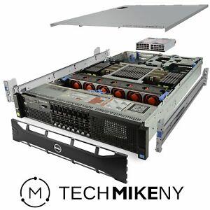 Dell PowerEdge R820 Server 4x E5-4657Lv2 2.40Ghz 48-Core 512GB 800GB SSD + 4.4TB
