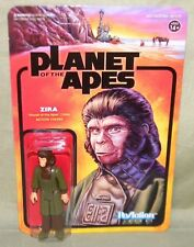 "PLANET OF THE APES: Dr ZIRA / 3.75"" Action Figure - ReAction Super 7"